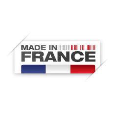 étiquette produit en france, production française