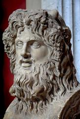 Ancient god statue