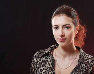 woman face portrait