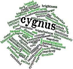 Word cloud for Cygnus