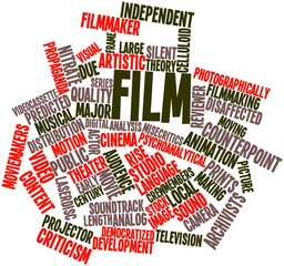 Word cloud for Film