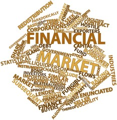 Word cloud for Financial market