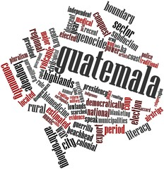 Word cloud for Guatemala