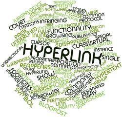 Word cloud for Hyperlink