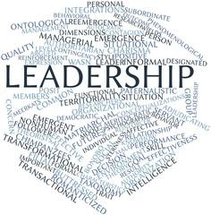 Word cloud for Leadership
