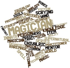 Word cloud for Magician