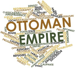 Word cloud for Ottoman Empire