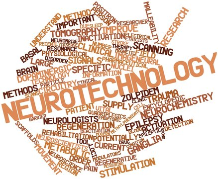 Word cloud for Neurotechnology