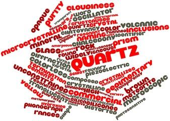 Word cloud for Quartz