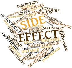 Word cloud for Side effect