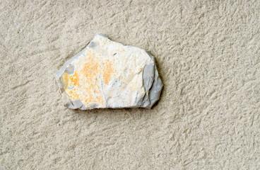 Kalkstein auf Sand