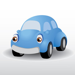 Poster Cars beetle car vector