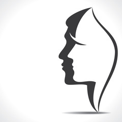 men women face icon