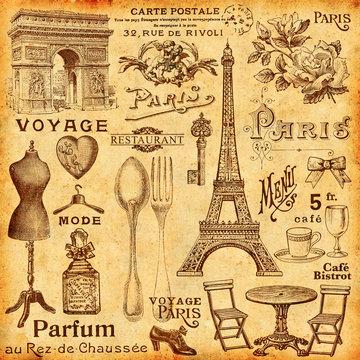 Fond paris