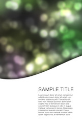 Abstract colorfully background with space for your text.