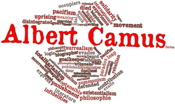 Word cloud for Albert Camus