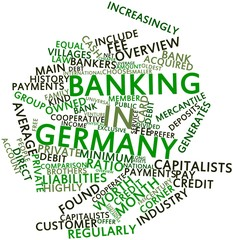 Word cloud for Banking in Germany