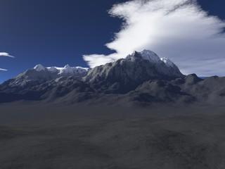 Winter im Gebirge