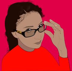 Портрет Алины.
