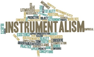 Word cloud for Instrumentalism