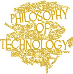 Word cloud for Philosophy of technology