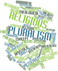 Word cloud for Religious pluralism