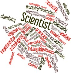 Word cloud for Scientist