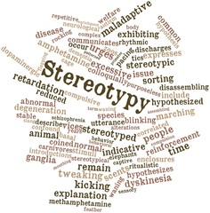 Word cloud for Stereotypy