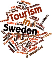 Word cloud for Tourism in Sweden