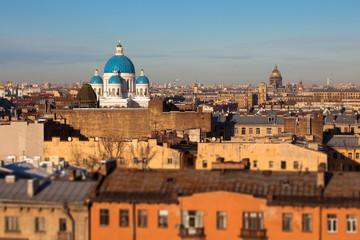 Panoramic view of St.Petersburg