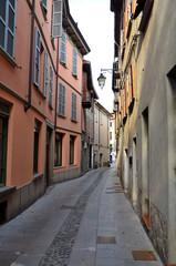 il centro storico di Bobbio, Emilia Romagna