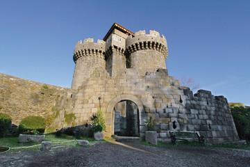Wall Mural - Castillo de los duques de Alba, Granadilla, Cáceres, España