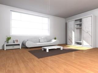modern livingroom interior