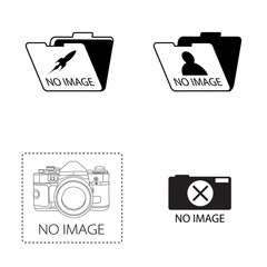 """no image"" icon set"