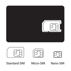 Sim card collection