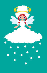 Weather Cute Angel Snowy