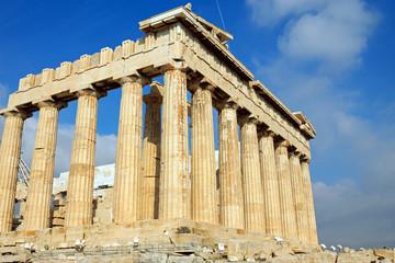 The Parthenon in Athen