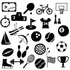 doodle sport images