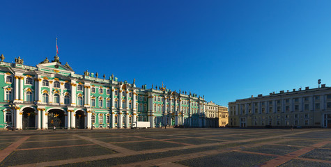 View of St. Petersburg.Winter Palace