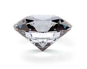 A beautiful sparkling diamond