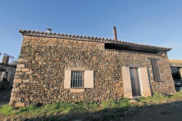 Wall Mural - Casa típica de Granadilla, Cáceres, España