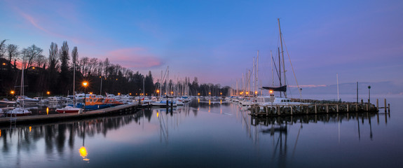 Yvoire Marina, France