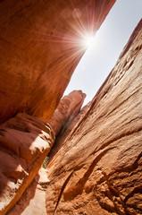 Poster de jardin Parc Naturel Canyon dans Arches National Park, Utah - USA