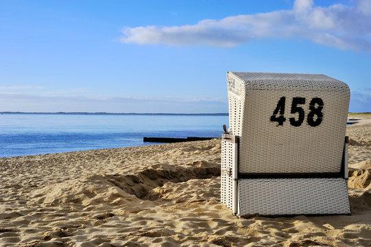 Sylt Strandkorb No. 458