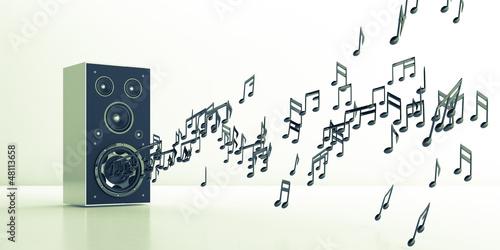 musik lautsprecher sound boxen stockfotos und. Black Bedroom Furniture Sets. Home Design Ideas