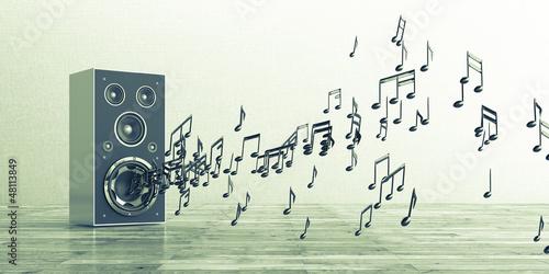 sound boxen lautsprecher musik stockfotos und. Black Bedroom Furniture Sets. Home Design Ideas
