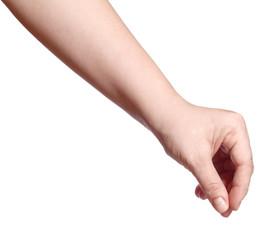 Finger hold