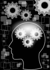 Man brain and machine