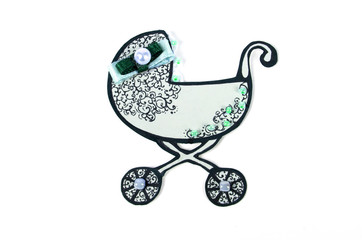 Decorative pram