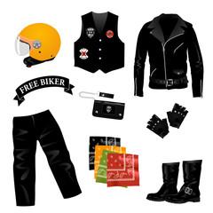 Fototapete - accessori biker